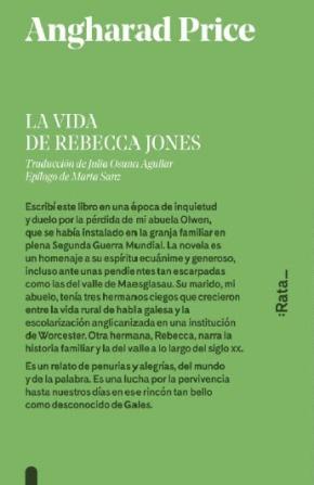 La vida de Rebecca Jones