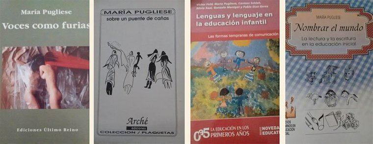 """María Pugliese: """"Las palabras con las que construyo los poemas son espejos"""""""