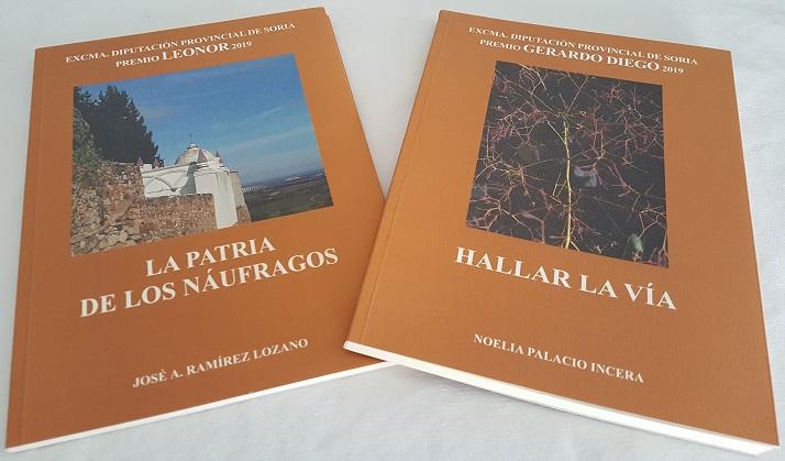 Libros premiados por la Diputación de Soria 2019