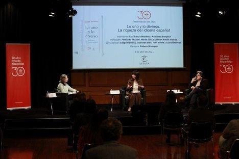 """El libro """"Lo uno y lo diverso"""" aborda con un toque de humor la riqueza del español a través de 21 artículos de grandes escritores"""