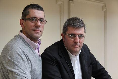 Mario y Fernando Tascón presentan su novela