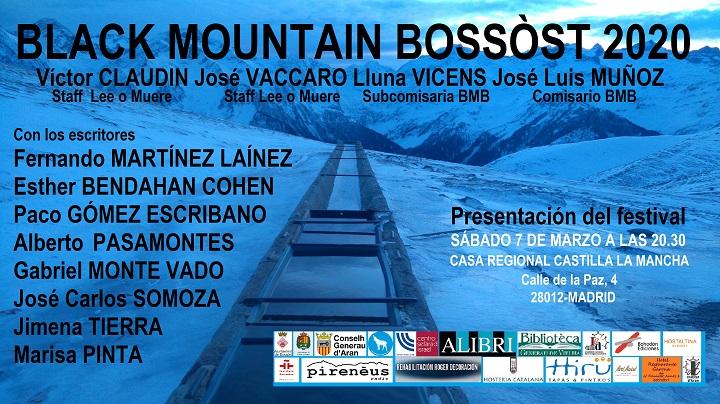 Presentación del Black Mountain Bossòst en Madrid