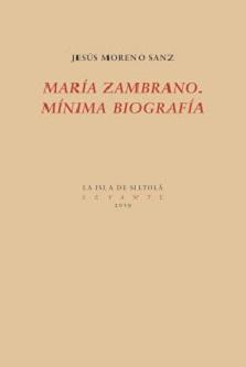 María Zambrano. Mínima biografía