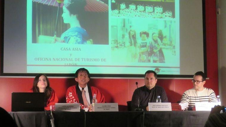 Laura Blocona; Hajime Kishi; José Andrés Santiago y Alberto Vilar Gómez