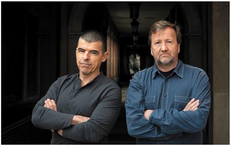 Manuel Marlasca y Álvaro Rendueles