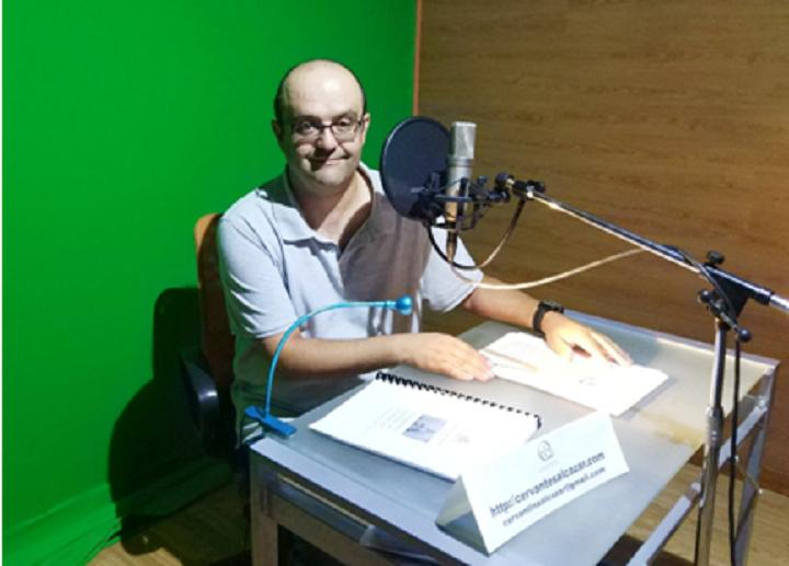 La Sociedad Cervantina de Alcázar publica gratis su primer audiolibro