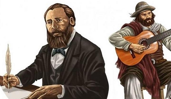José Hernández y Martín Fierro