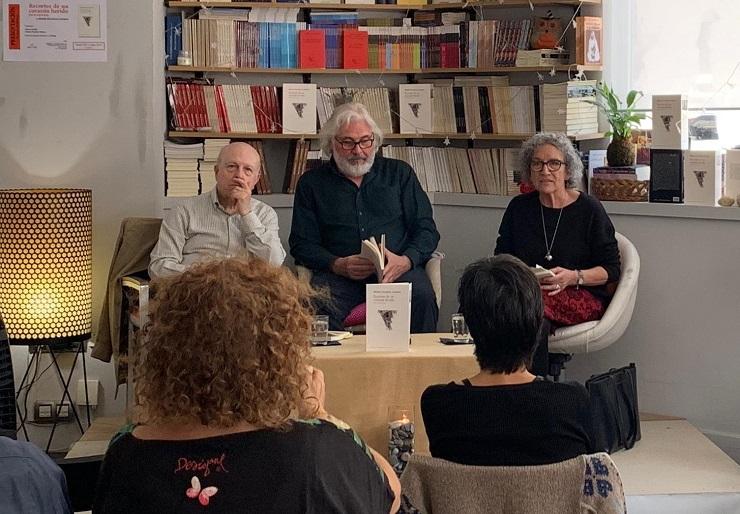 Javier Lostalé, Matías Escalera Cordero y María Ángeles Maeso