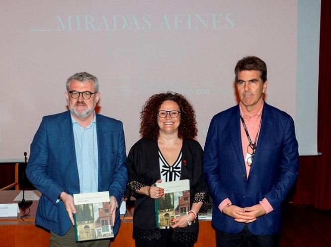 Miguel Falomir, Olga Sánchez y Alejandro Vergara
