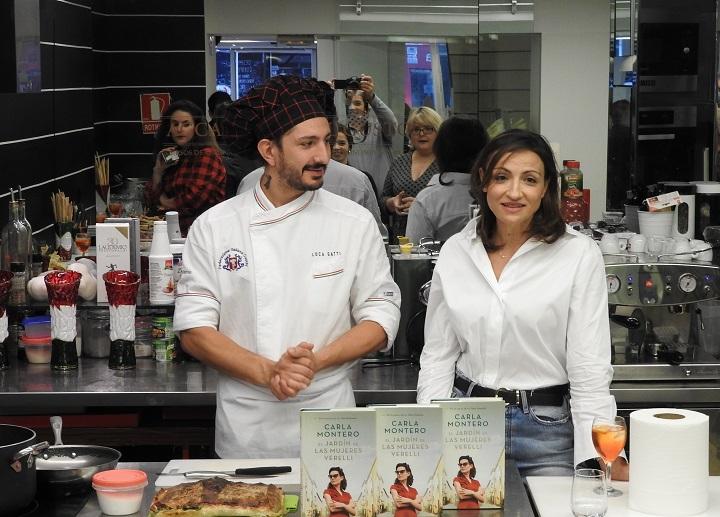 Luca Gatti y Carla Montero