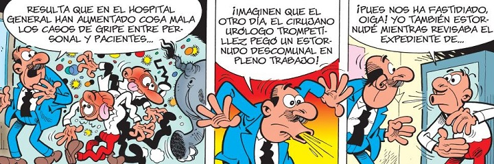 Mortadelo y Filemón en Urgencias