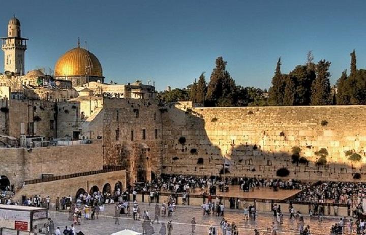 El Muro de las Lamentaciones en Jerusalén