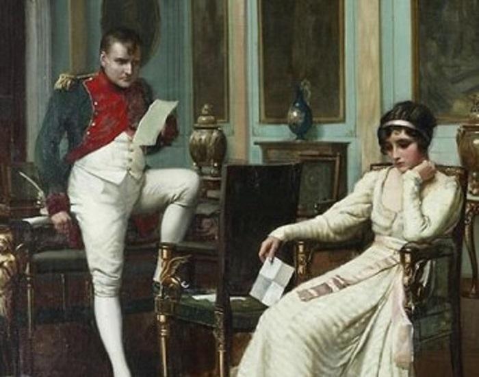 Napoleón Bonaparte y Josefina