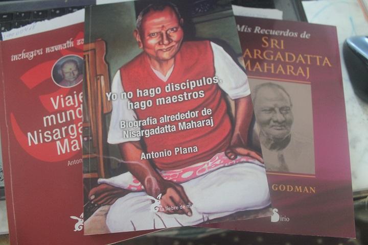 Libros de Nisargadatta Marahaj