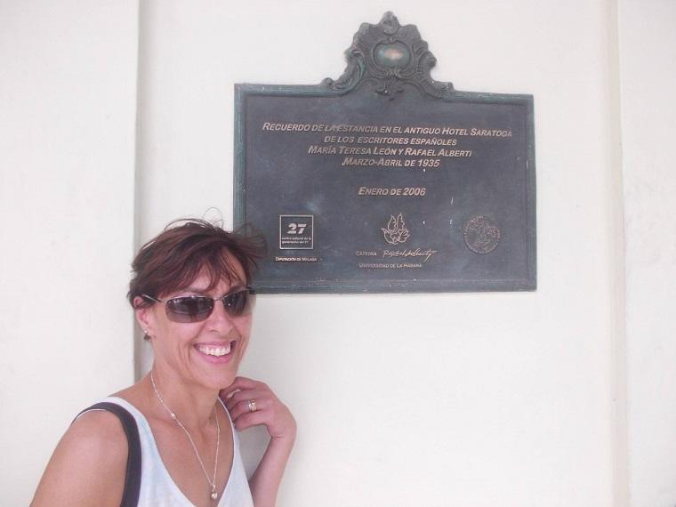 Norma Etcheverry en Saratoga