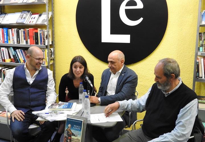 Ricardo Sánchez, Laura Darriba, José Luis Hernández Garvi y Melquiades Álvarez