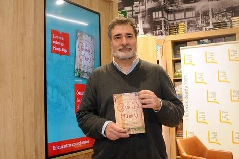 Óscar Soto escribe en su segunda novela un homenaje a la Rioja