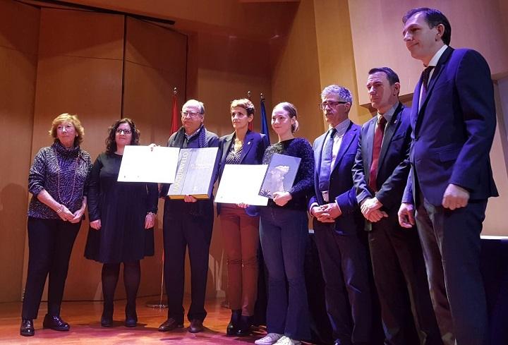 Entrega de los premios en el Museo Lázaro Galdiano el 13 de noviembre de 2019