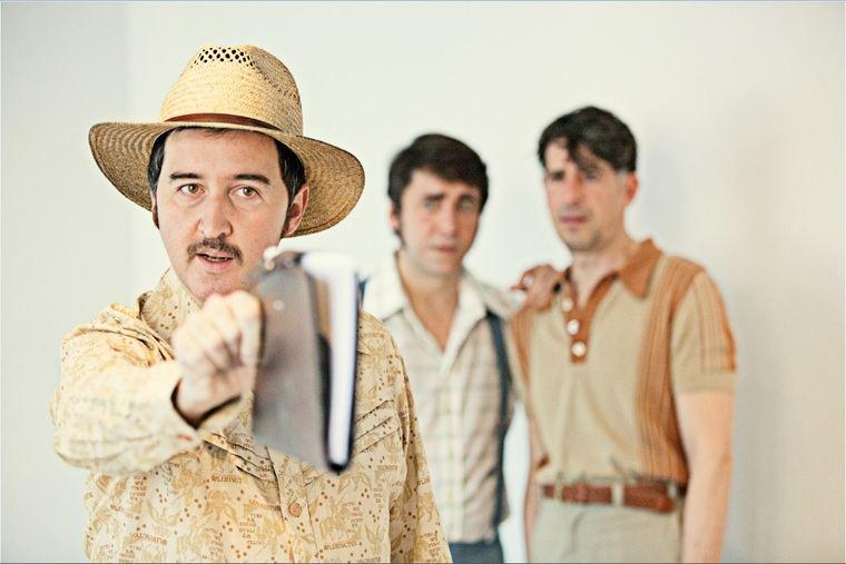 Elenco masculino de 'Paloma Negra (Tragicomedia del desierto)'