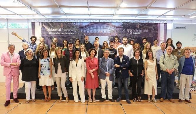 38 escritores de la Editorial Planeta en la Feria del Libro de Madrid