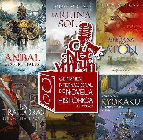 Llega el segundo podcast del programa del Certamen de Novela Histórica de Úbeda