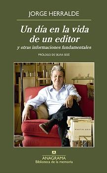 Jorge Herralde publica sus memorias,