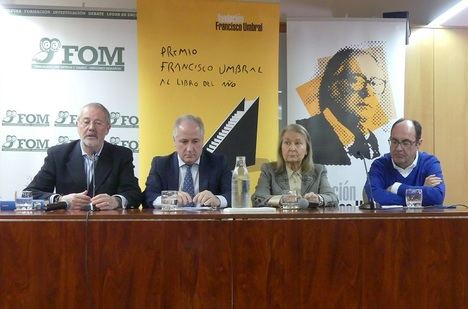 Mario Vargas Llosa ganador de la IX edición del Premio Francisco Umbral al Libro del Año por la novela