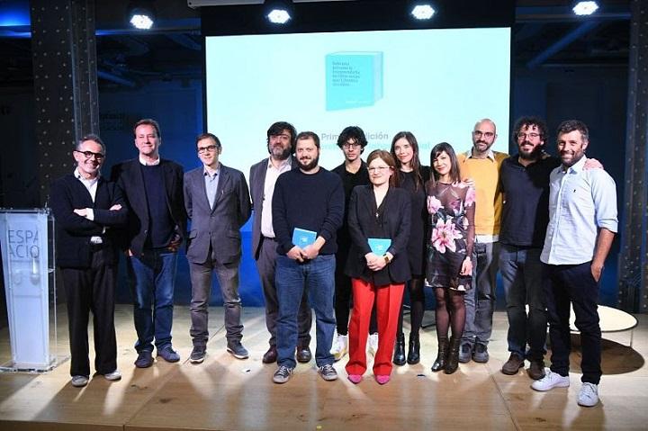 Foto de familia de los premios Librotea