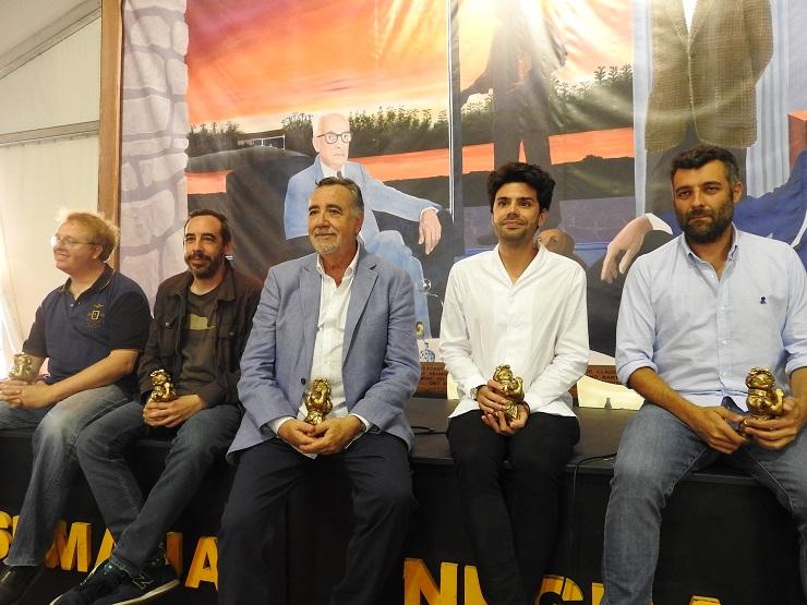 Ganadores de los premios de la Semana Negra de Gijón