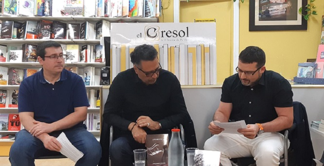 Gregorio Muelas, Carlos Roberto Gómez Beras y José Antonio Olmedo