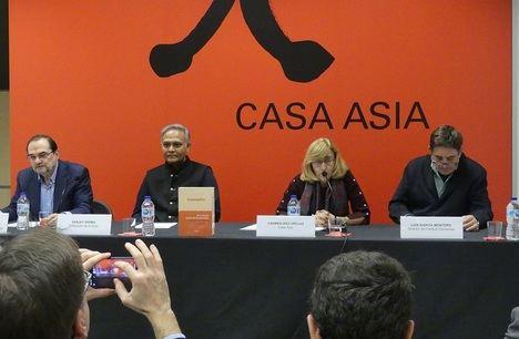 Óscar Pujol, Sanjay Verma, Carmen Días Orejas y Luis García Montero