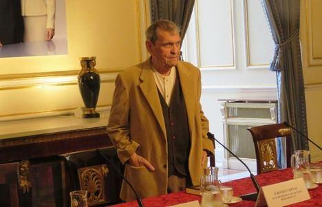 Presentación de la obra antológica de Rafael Cadenas, galardonado con el XXVII Premio Reina Sofía de Poesía Iberoamericana 2018