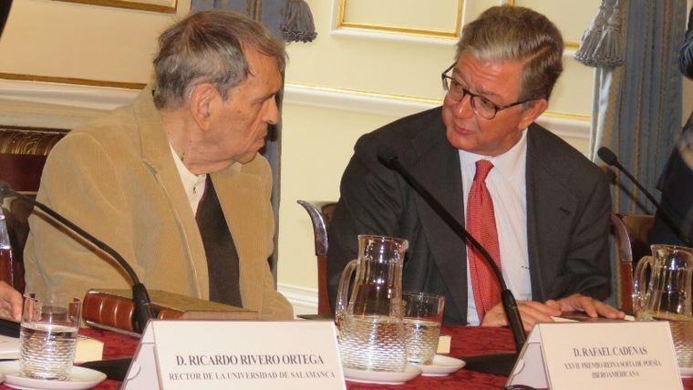 Rafael Cadenas y Alfredo Pérez de Armiñán