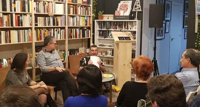 Bibiana Collado, Juan Luis Bedins y Ramón Bascuñana