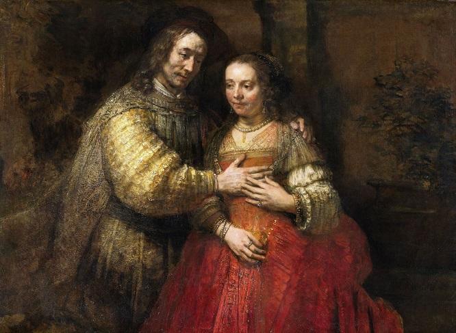 La novia judía, c. 1665