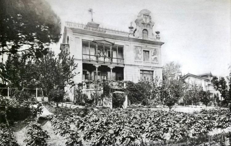 Residencia de Galdós en Santander