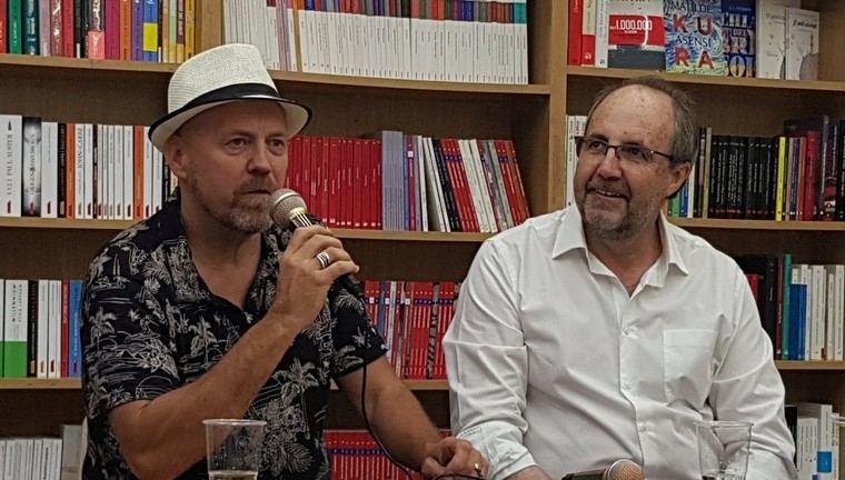 Ricardo Virtanen y César Gavela