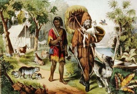 Robinson Crusoe is an artistic propaganda