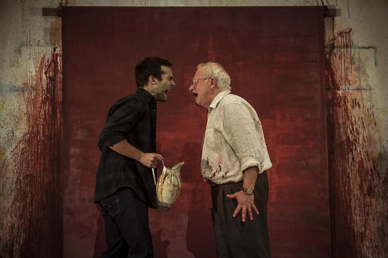 Ricardo Gómez y Juan Echanove