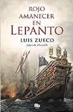 """Luis Zueco comienza su andadura literaria con """"Rojo amanecer en Lepanto"""""""