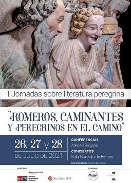 El Instituto de Estudios Riojanos y Almuzara Libros celebrarán un encuentro jacobeo sobre literatura de caminantes, romeros y peregrinos