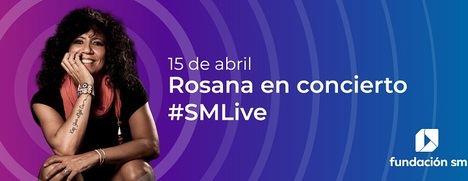 La Fundación SM organiza el primer concierto virtual de homenaje a los profesores con Rosana