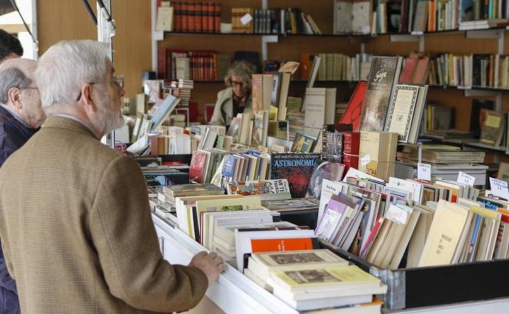 Instantánea de la Feria de libro de viejo y ocasión de Madrid