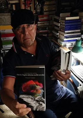 Manuel Salado publica su tercera novela este año