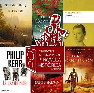 Y el Podcast del Certamen de Novela Histórica de Úbeda llega a su sexta entrega