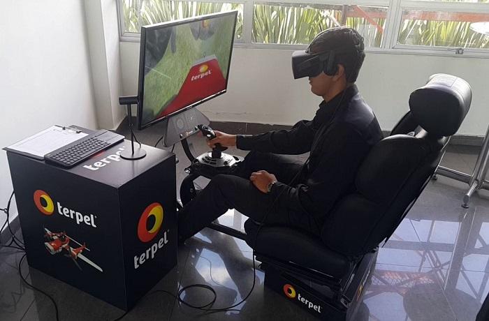 Simulador de vuelo con realidad virtual