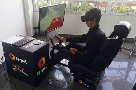 Con la realidad virtual, los simuladores de vuelo entran en el futuro