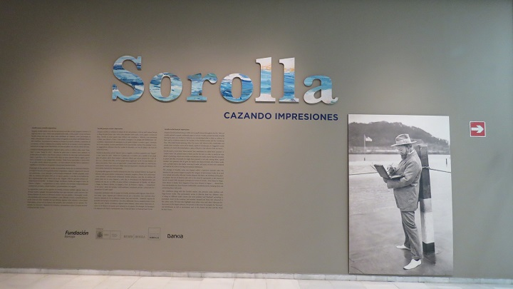 Exposición Sorolla. Cazando impresiones, en Fundación Bancaja de Valencia