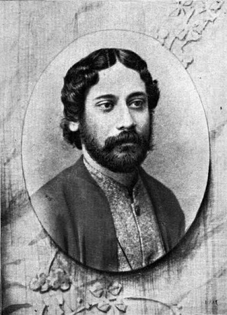 R. Tagore de joven