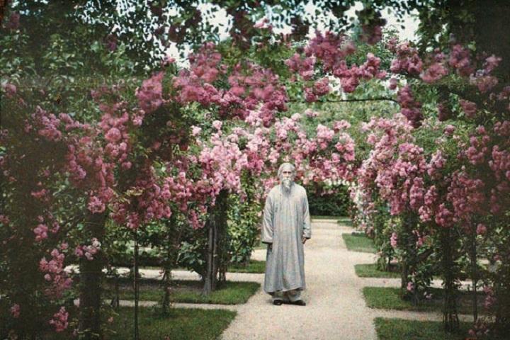 Tagore en 1921 en Paris